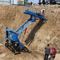 厂家护坡锚固钻机 履带护坡锚固钻机 能升高5米