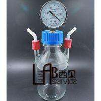 Woulff瓶 负压瓶 缩合反应装置 反应瓶 负压反应瓶 负压装置加工8.00 高精度量筒