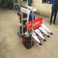 农用小型艾草苜蓿收割打捆机 手扶式小麦水稻牧草割捆机