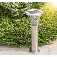 江苏弘光照明工程公司生产家用不锈钢景观草坪灯led超亮太阳能灯飞利浦