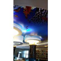 一色天环保软膜天花吊顶 软膜造型
