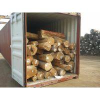 张家港现货供应进口阿根廷绿檀原木