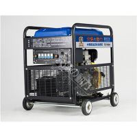 小型190A柴油发电电焊机两用机 移动方便