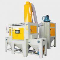 浙江通宝专业生产TB500-6A-1 输送上旋式自动喷砂机 板材喷砂机 板材除锈机 石材增加摩擦力