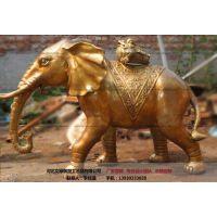 铜雕大象_大象雕塑-文禄