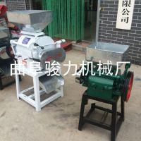 骏力供应 燕麦制片机 多功能对辊式挤扁机