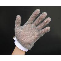 不锈钢环安全防护手套