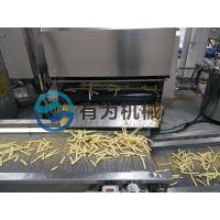 炸土豆条机器 牛蒡条上浆裹粉设备 上浆裹粉油炸生产线厂家