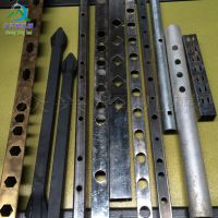 广东厂家供应问2-160液压高速方管围栏冲孔机槽钢切断机