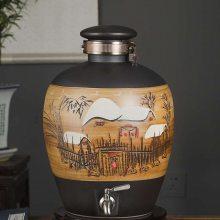 高端空白酒坛子批发 10斤20斤30斤密封酒罐价格 北京酒缸厂家