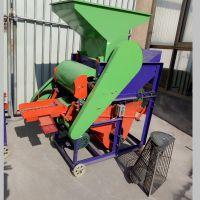 新型花生种子剥壳机 农用机械果子剥壳机 花生筛选脱壳机