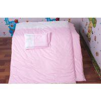 幼儿园床上用品儿童三件套定制批发纯棉面料新疆长绒棉棉胎