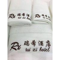 段边绣花(瑞希)酒店宾馆纯棉吸水柔软亲肤毛巾