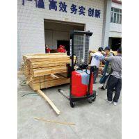 HES20-20半电动堆高车/2吨120Ah托盘堆垛车电动叉车电瓶铲车插电