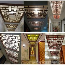 公司专业制造各种造型铝合金窗花
