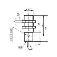 倍加福圆柱型光电传感器obs4000-18gm60-e4