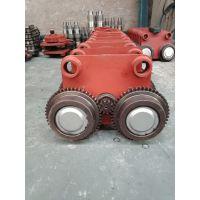 5吨电动葫芦跑车 带电机驱动跑车 澳尔新葫芦行走装置
