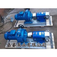 新品热卖不锈钢凸轮转子泵 胶体泵 移动转子泵