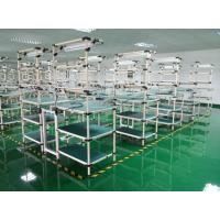 东莞帝腾工厂直销柔性复合管/精益管组装工作台/生产车间装配操作台