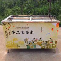 绿色健康腐竹豆油皮设备 特价酒店专用优质腐竹油皮机