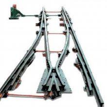 九州厂家供应道岔 质量上乘 铁路专用