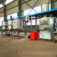 核桃加工机械 核桃榨油精炼设备志乾厂家 油脂脱胶脱酸精炼生产线