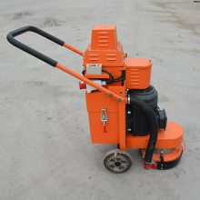 天德立ZL300金刚石磨头水泥地打磨机 4KW自带吸尘混凝土打磨机好质量
