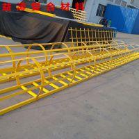 铜仁玻璃钢护笼爬梯安全防腐蚀爬梯围栏安全爬梯直梯FRP绝缘