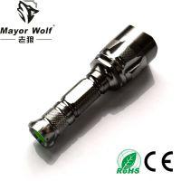 厂家批发 led强光手电筒 户外骑行用品照明家用手电筒