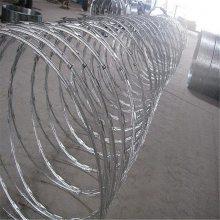 刺绳围栏网 刀片滚笼 主动防护网