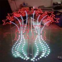 厂家畅销 LED双面灯 灯杆装饰灯 火树银花图案灯 户外防水光源