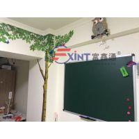 从化壁挂式磁性大绿板F惠阳定做教学绿板X支架式绿板
