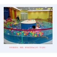 全透明豪华钢化玻璃儿童游泳池 厂家 透明玻璃婴儿游泳池