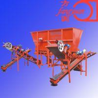 蜂窝煤自动上料机 自动喷水装置上料架价格 一共二上料机厂家