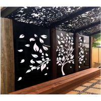 酒店屏风装饰背景墙镂空铝单板厂家定做报价
