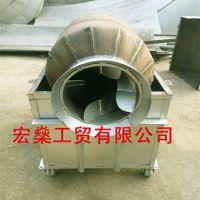 移动滚筒式炒料机 50型炒籽机炒货机价格
