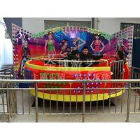 金博大型游乐设备24人迪斯科转盘 室内游乐设备迪斯高