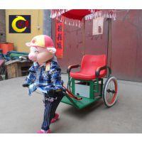 河北小型机器人拉车蹬车机器人骑车 场地游艺设备儿童碰碰车 蹦极跳床厂家 充气城堡价格