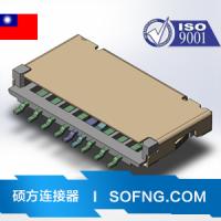 TXGE插座 HDMI-519S 外形尺寸:11.2mm*7.6mm*3.2