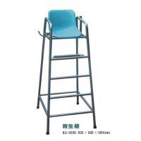 专业低价批发零售泳池设备/泳池救生用品/304不锈钢救生看台救生椅