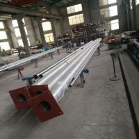 金聚进 上海建筑工程公司不锈钢旗杆询价 一次成型旗杆