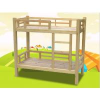 批发幼儿园实木上下铺床 儿童卡通加厚塑料床幼儿园午托床厂家直销
