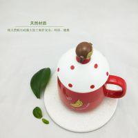 深圳厂家供应易可家蛭石硅藻土生态吸水杯垫防霉抗菌隔热茶杯垫