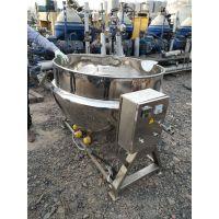 卫生级不锈钢 蒸汽加热夹层锅 火锅底料炒锅 香菇酱生产设备