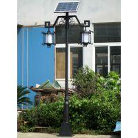 宁夏石嘴山市平罗县12V LED 5米20瓦太阳能路灯 4米15瓦太阳庭院灯工程案例
