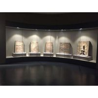 博物馆展柜制作中心-制作各种类型博物馆文物展柜设计效果图-大连恒艺空间展柜