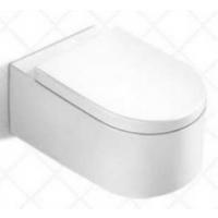 高温亮釉自洁陶瓷壁挂式卫生间嵌入式马桶座便器