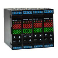 PAN-GLOBE台湾泛达温控表RC2000-801轨道型双输出温控器塑胶设备应用