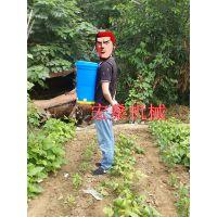 宏燊电动施肥机 小型电动撒肥机 背负式水稻撒肥机