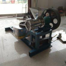 15马力柴油机带动面粉膨化机 流动小本生意膨化机鼎翔供应